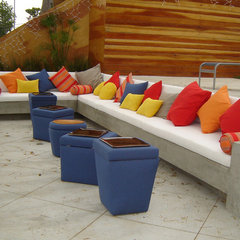 contemporary patio by Liz Stewart