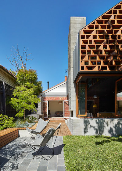 Contemporary Patio by MAKE Architecture