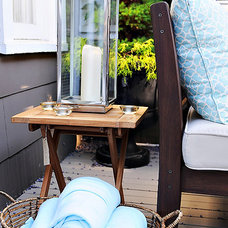 Eclectic Patio by The Locker