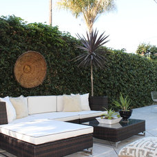 Eclectic Patio by squarefoot interior design