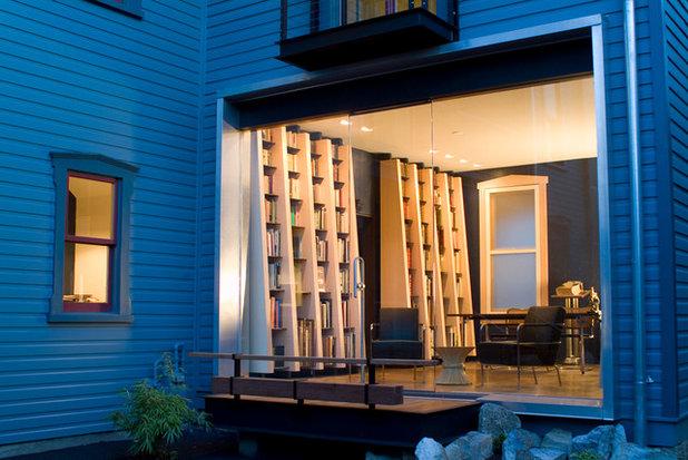 Modern Patio by Reader & Swartz Architects, P.C.