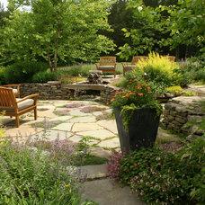 Rustic Patio by Dear Garden Associates, Inc.