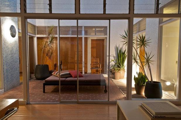 Modern Patio by June Scott Design