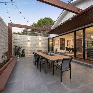 This is an example of a contemporary patio in Other.