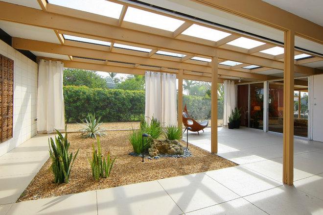 Modern Patio by Environmental Interiors Design Studio LLC
