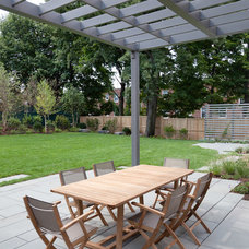Contemporary Patio by Matthew Cunningham Landscape Design LLC