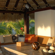 Tropical Patio by Lori Gilder