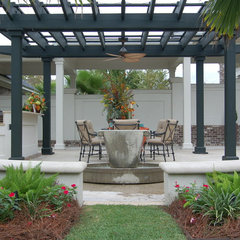 traditional patio by LORRAINE G VALE, Allied ASID
