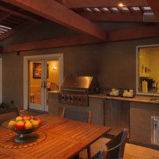 Traditional Patio by Kikuchi + Kankel Design Group