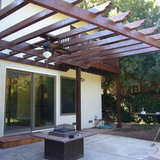 Mediterranean Patio by Jemstone Construction