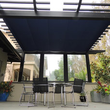 Contemporary Patio by ShadeFX Canopies