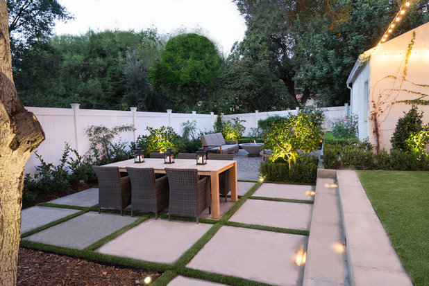 Traditional Patio by AD Design Inc
