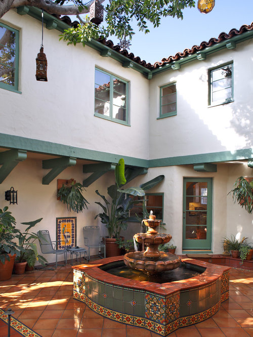 Spanish Fountain Ideas Pictures Remodel And Decor