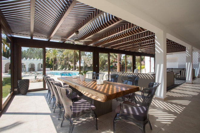 Contemporary Patio by Ambience Home Design S.L