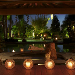 asian patio by Jeff Blakely,ASLA