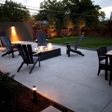 Modern Patio by Landform Design Group