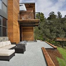 Contemporary Patio by Quezada Architecture