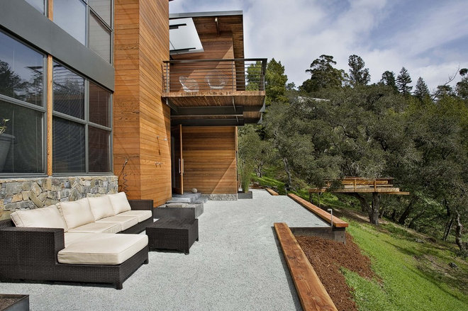 Contemporary Patio by Quezada Architecture