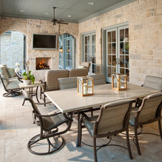 Traditional Patio by Danes Custom Homes