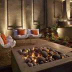 Rooftop Outdoor Living With A Hot Tub And Shower Modern Patio Austin By Austin Outdoor Design