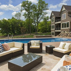 Traditional Patio by Grace Hill Design