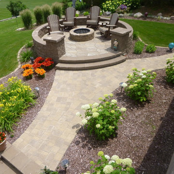 Luxury Patio and Fire Pit - Wakefield, NE