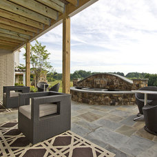 Contemporary Patio by M/I Homes