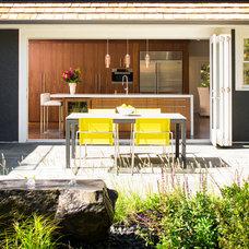 Contemporary Patio by J & R Katz Design + Architecture Inc.