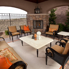 traditional patio by P. Scinta Designs, LLC