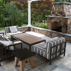 Traditional Patio by Stonetown Construction Corp