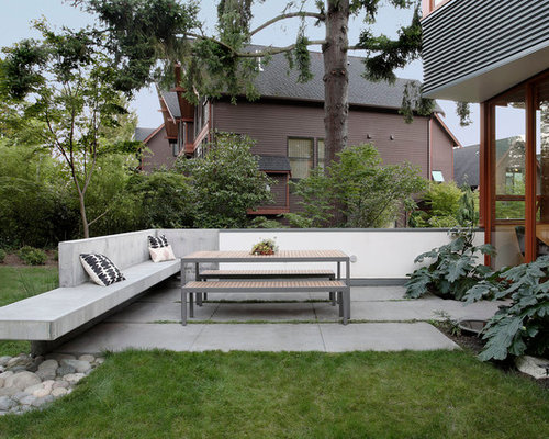 SaveEmail - Best Concrete Bench Design Ideas & Remodel Pictures Houzz