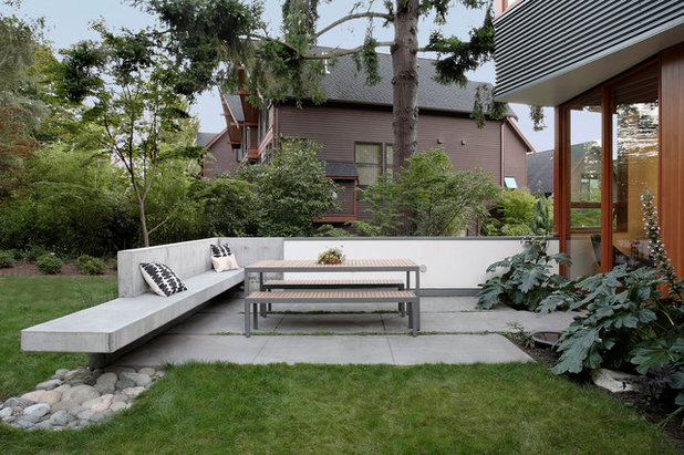 Moderno Patio by SHED Architecture & Design