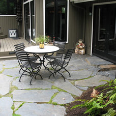 Traditional Patio by Malone's Landscape Design | Build