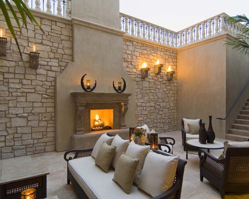 Browse 170 photos of Rock Wall Fireplace. Find ideas and inspiration for Rock Wall Fireplace to add to your own home.