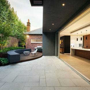 Imagen de patio actual en patio