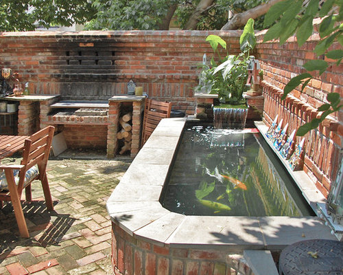 Outdoor Brick Bbq Home Design Ideas Pictures Remodel And