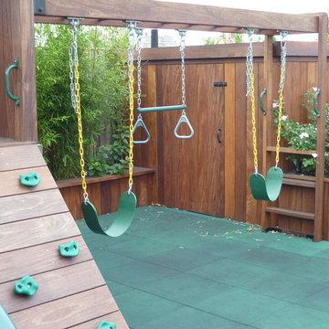 Manhattan Penthouse Rooftop Garden and Custom Playground