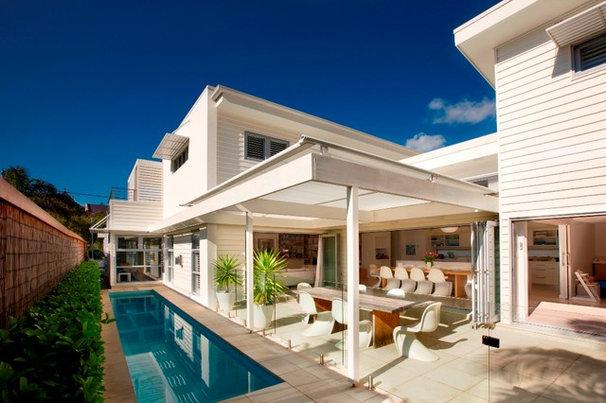 Contemporary Patio by Sanctum Design