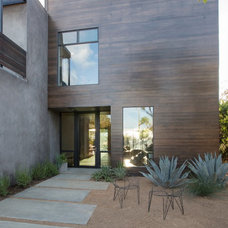 Contemporary Patio by Shelby Wood Design