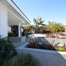 Midcentury Patio by Jeannette Architects