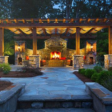 Marietta Outdoor Kitchen & Fireplace