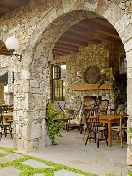Traditional Patio by Yvonne McFadden LLC