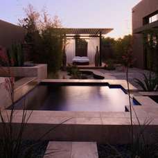 Contemporary Patio Marquis Las Vegas (2009 New American Home)