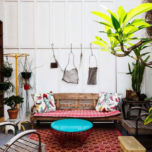 Idées déco pour une terrasse romantique.