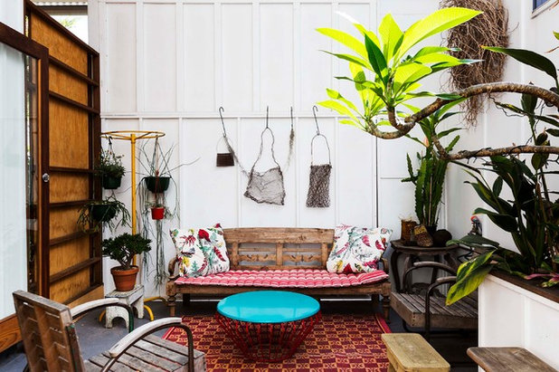 Shabby-chic Style Patio by David Boyle Architect