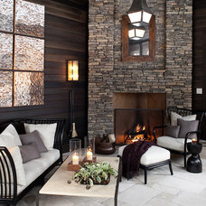 Contemporary Patio by Marshall Morgan Erb Design Inc.