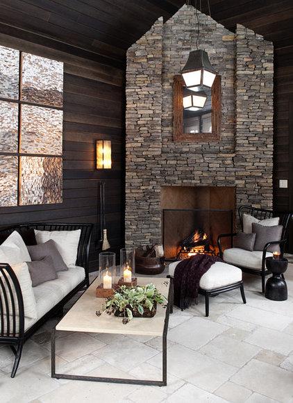 Contemporary Patio by Marshall Morgan Erb Design Inc.