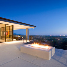 Contemporary Patio by Spry Architecture