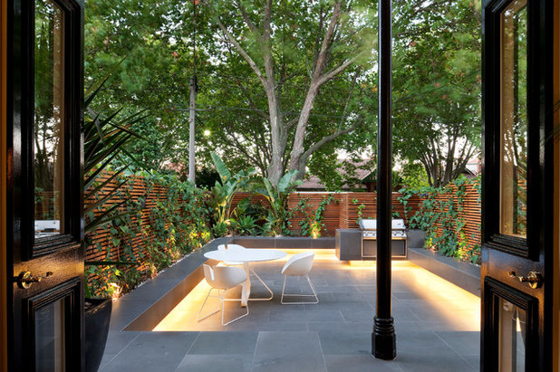 Contemporary Patio by Matt Gibson Architecture + Design