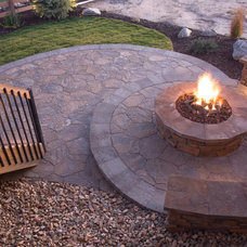 Beach Style Patio by Capstone Construction of Maryland